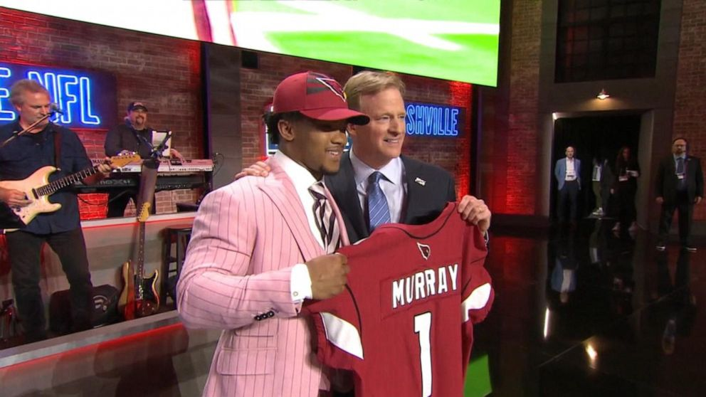 6ba9a3acc3 Biggest picks from the 1st round of NFL Draft Video - ABC News