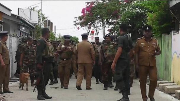 Police raid 'safe house' in Sri Lanka