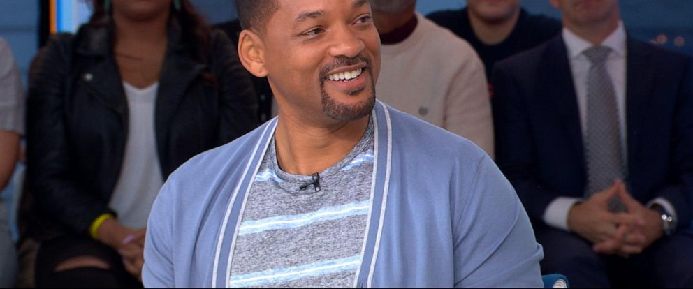 VIDEO: Will Smith talks starring in live-action adaptation of Aladdin