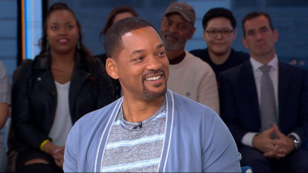 Will Smith talks honoring Robin Williams as he adds his 'new flavor' to the Genie in 'Aladdin'