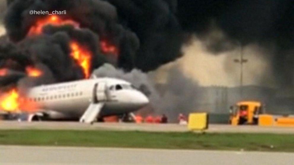 Russian plane crash survivor recalls strong lightning strike