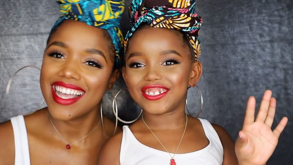 These adorable mother-daughter makeup tutorials will make you smile - ABC News