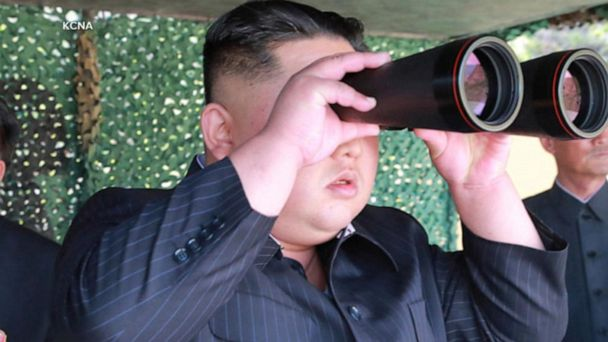 New images show Kim Jong Un watching missile test