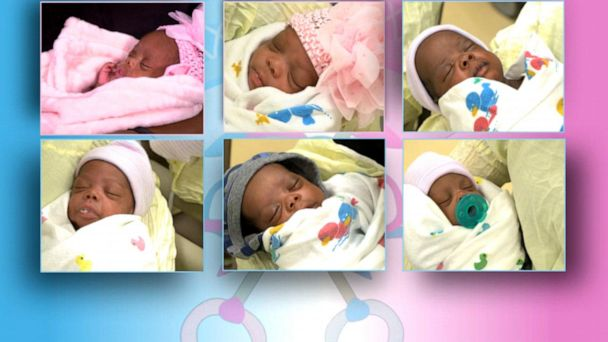 Mom of sextuplets celebrates Mother's Day
