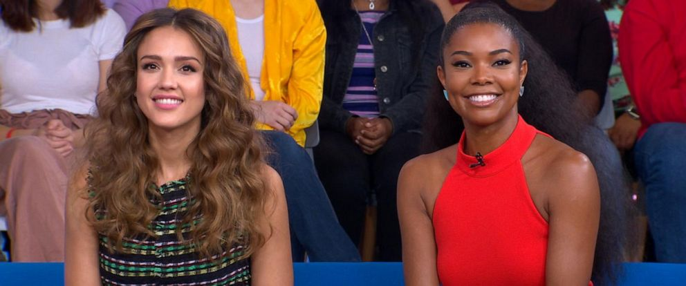 VIDEO: Gabrielle Union and Jessica Alba share how they celebrated Mothers Day