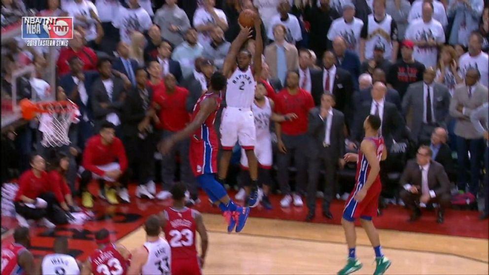 Toronto Raptors score buzzer-beater to win Game 7