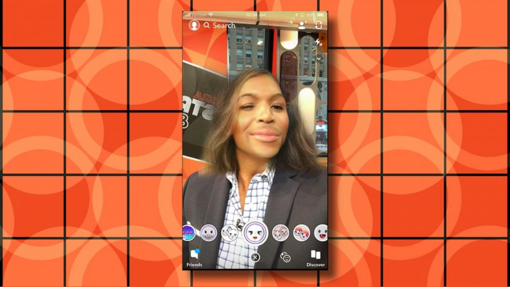 Snapchat gender swap filter on android