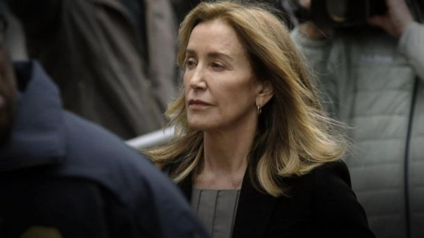 Felicity Huffman files tearful guilty plea in college scam