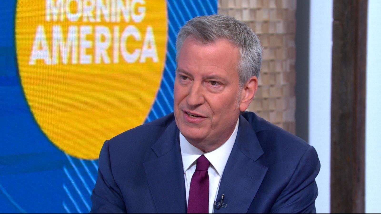 Best After Christmas Sales 2020 New York City Mayor Bill de Blasio announces 2020 presidential bid
