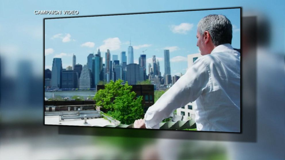 New York City Mayor Bill de Blasio announces 2020