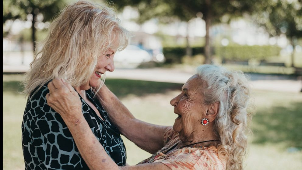 See the moment this 90-year-old meets her 70-year-old daughter for the first time