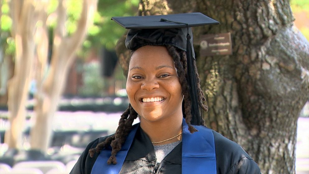 Former homeless student, Georgetown grad: 'Your blessing is there waiting for you'