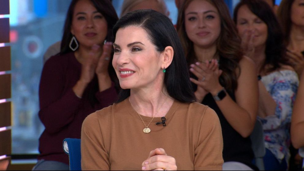 Julianna Margulies on acting in a hazmat suit in 'The Hot Zone'