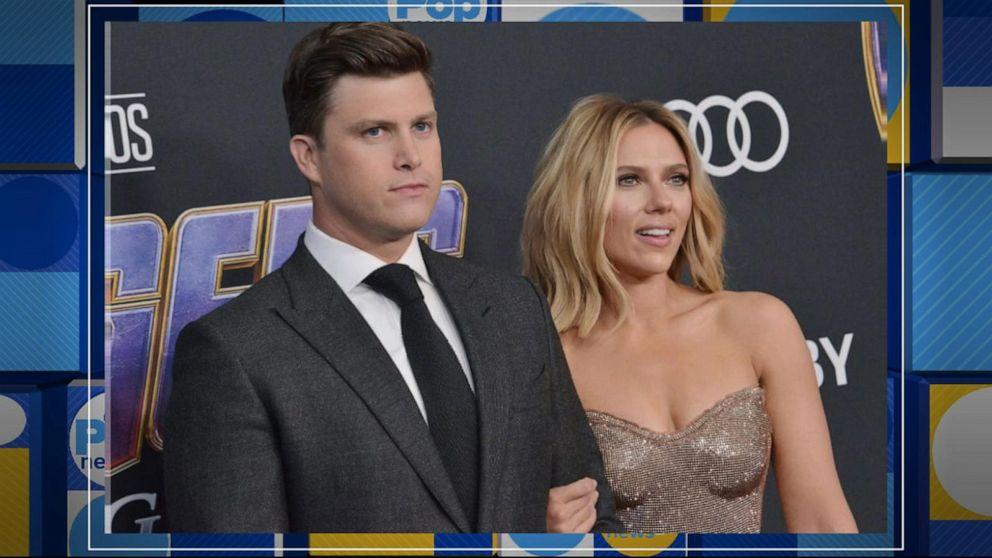 Scarlett Johansson engaged to 'SNL's' Colin Jost