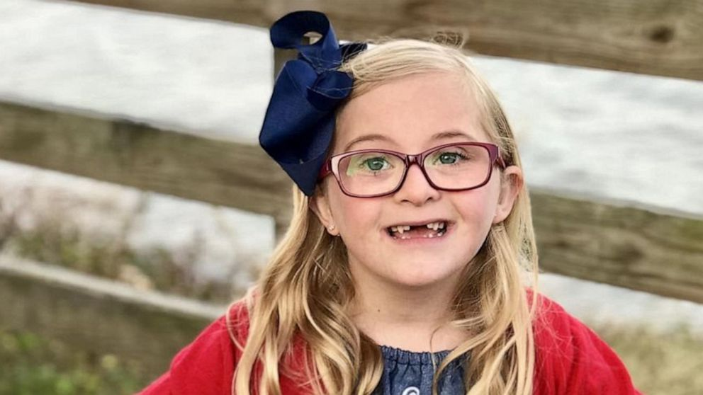 7-year-old shares her thoughts about having Down syndrome