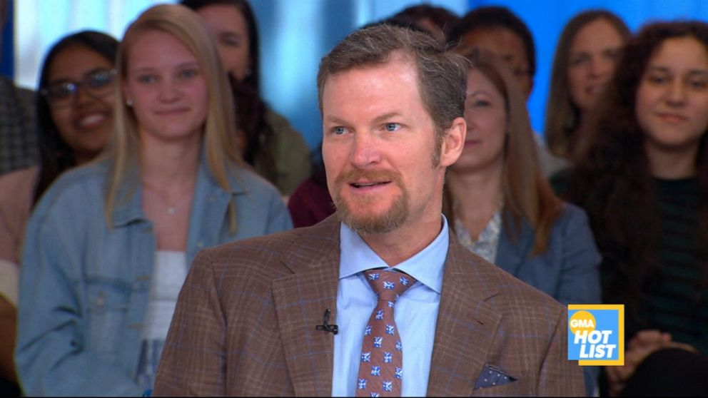 'GMA' Hot List: Dale Earnhardt Jr. says he's nervous to drive pace car at Indy 500