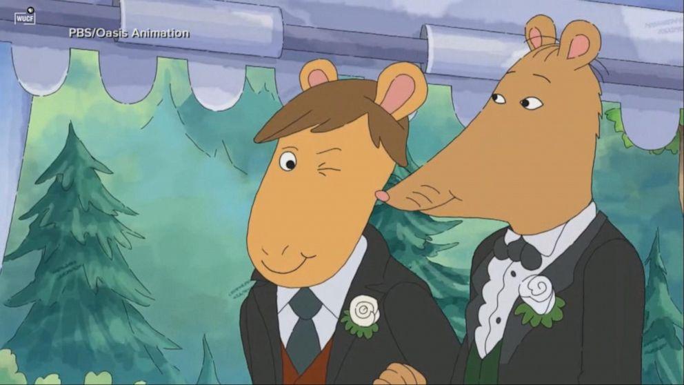 Alabama station refuses to air 'Arthur' same-sex wedding