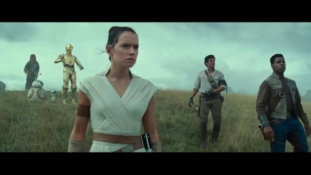 Behind-the-scenes photos from 'Star Wars: The Rise of Skywalker'