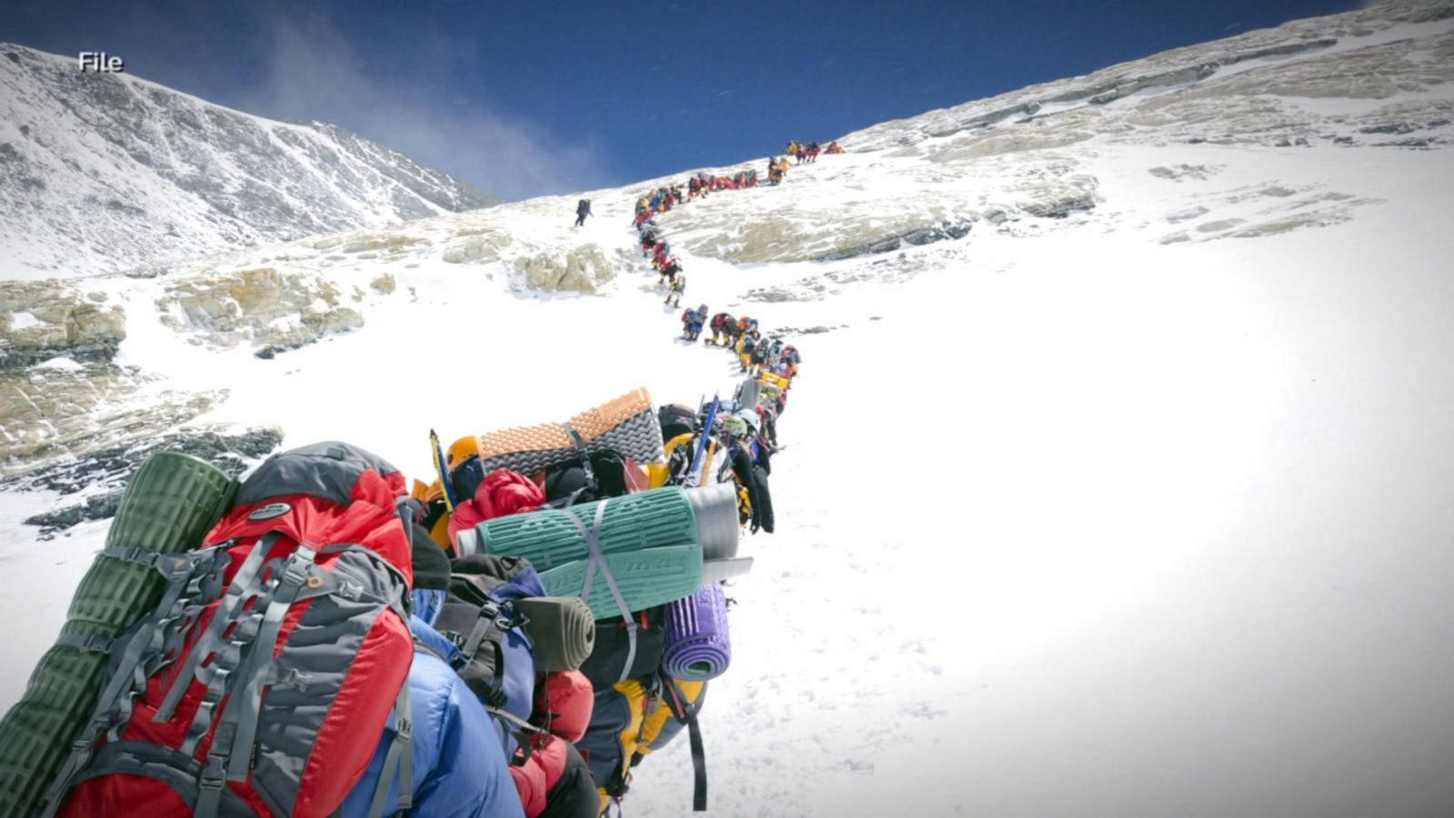 10th death in 2 months reported on Mount Everest amid long wait