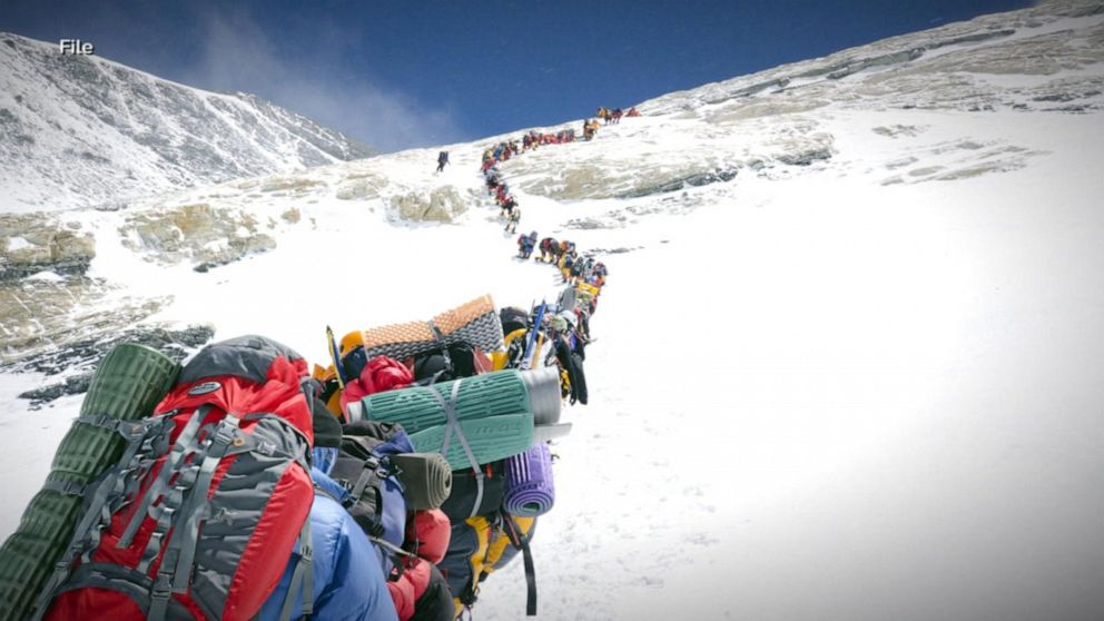 At least 5 climbers have died in the past week climbing Mt. Everest