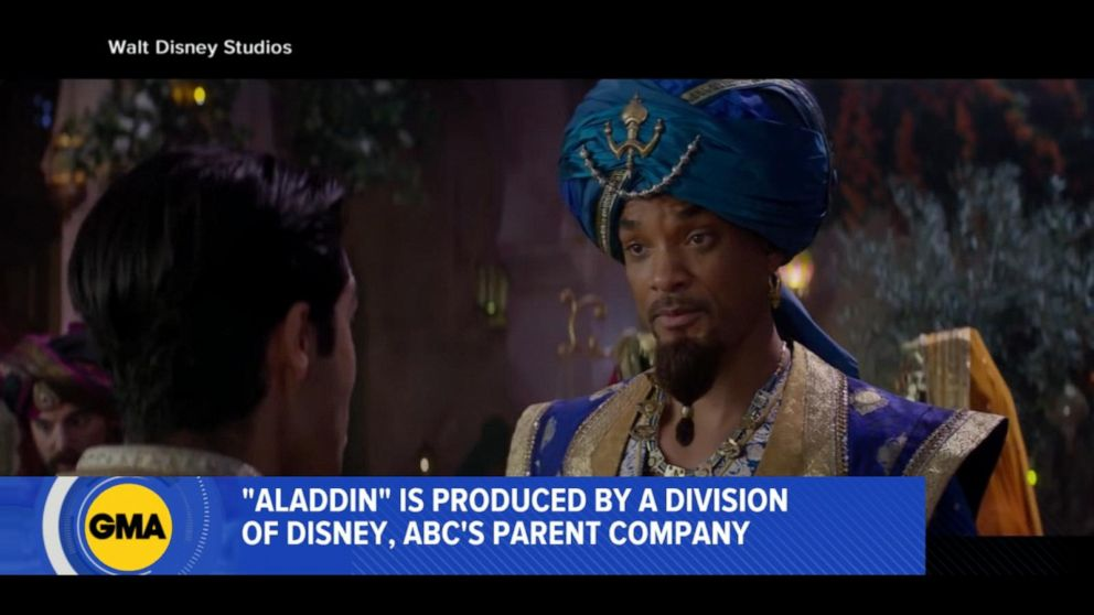 'Aladdin' is a big hit at the box office Memorial Day weekend