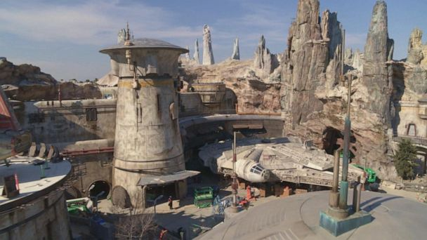 First look at Disneyland's new Star Wars: Galaxy's Edge