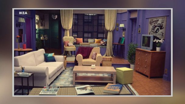 Ikea Shows You How To Recreate Friends Apartment Gma