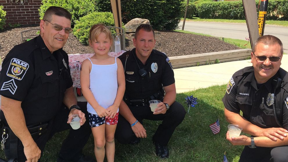 How this 6-year-old philanthropist is helping her local police department get a K-9