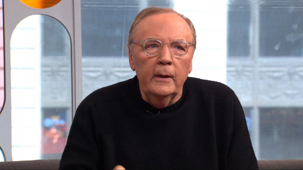 Michael's thrilling book idea for James Patterson