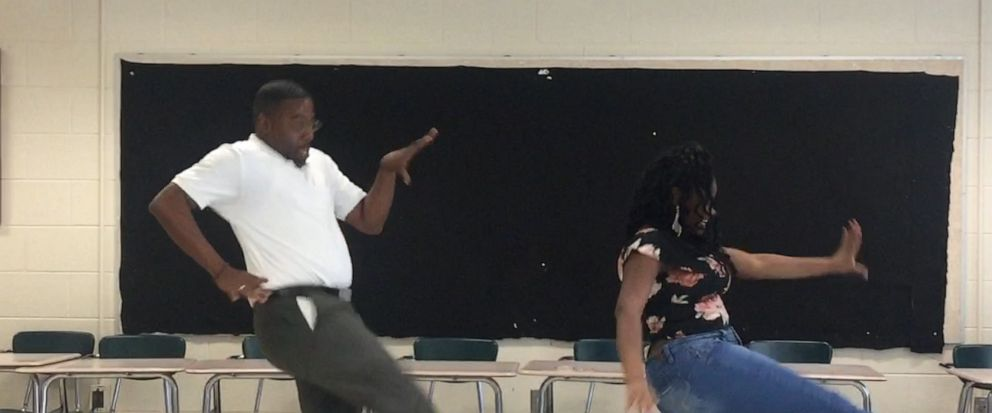 VIDEO: Teacher honors deal with 8th grader to perform dance if she aced an exam