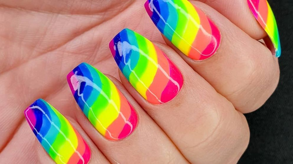 15 rainbow nail art ideas to try during Pride month and beyond - ABC ...