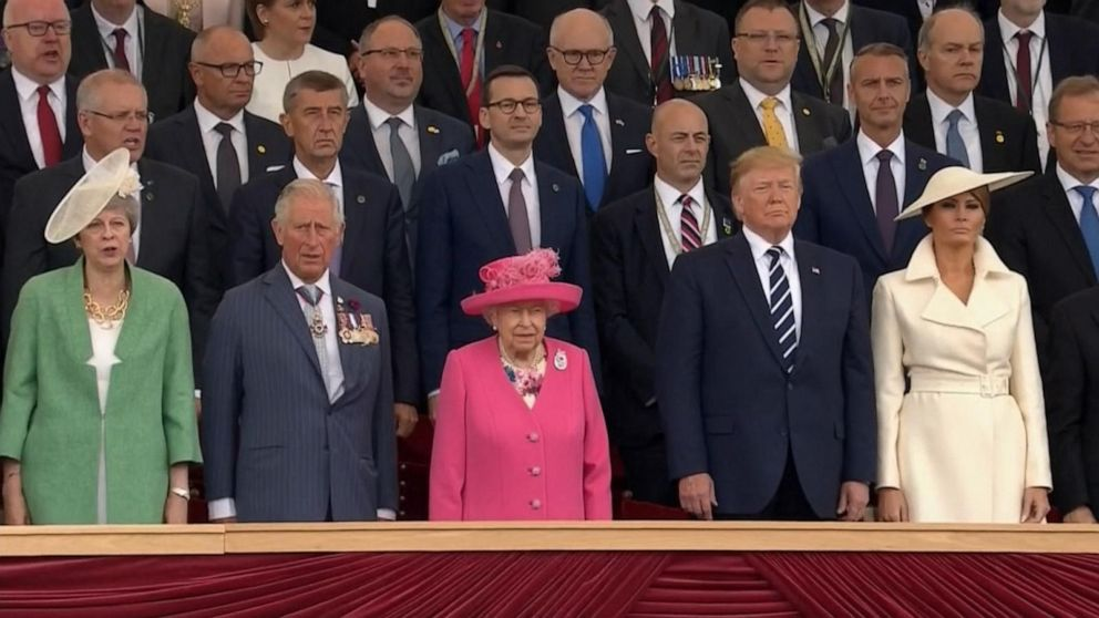 2d190e62df8a Trump joins world leaders to commemorate 75th anniversary of D-Day ...