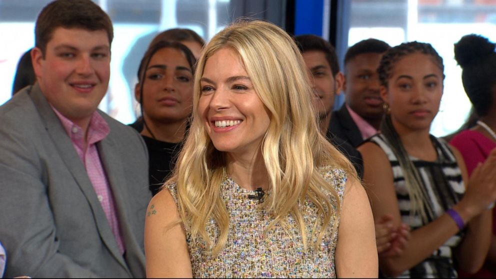Actress Sienna Miller on why she won't play 'a girlfriend' ever again
