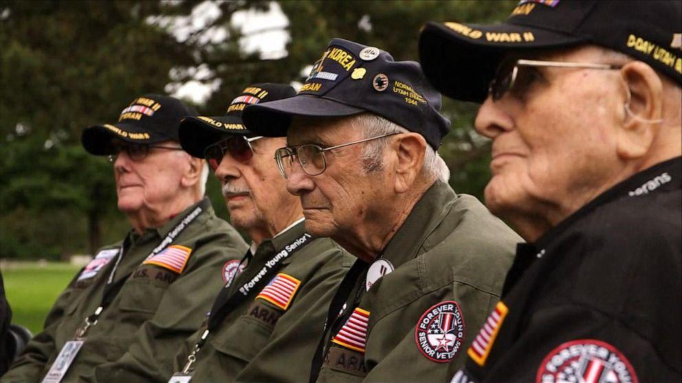2905c680762a Trump, Macron mark D-Day 75th anniversary at Normandy - ABC News