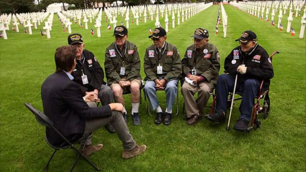 Heroes return to Normandy for 75th anniversary of D-Day