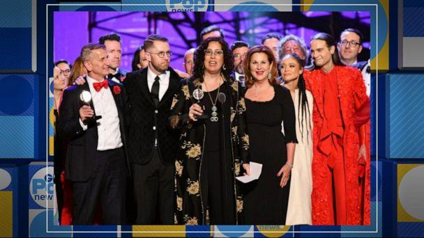 'Hadestown' wins big at 2019 Tony Awards