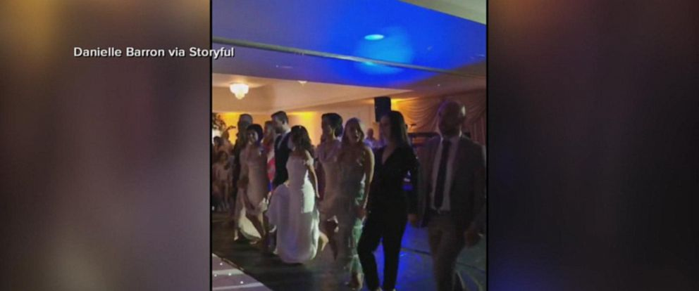 VIDEO: Bride surprises guests with Riverdance performance