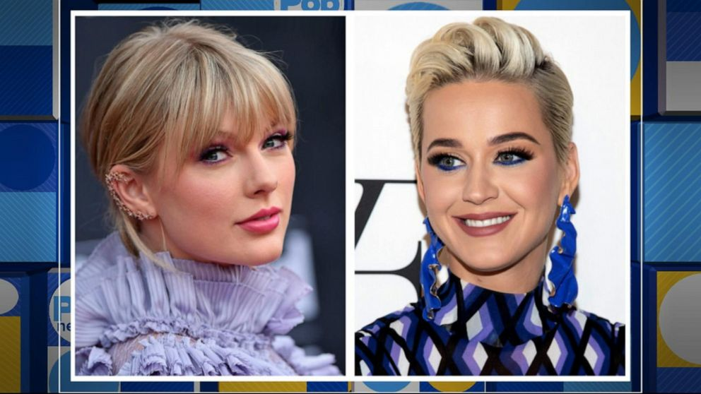 Katy Perry and Taylor Swift have reached 'peace at last