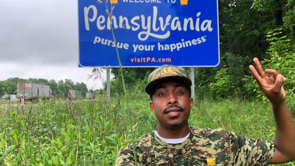 This man is going to all 50 states to mow lawns for veterans for free