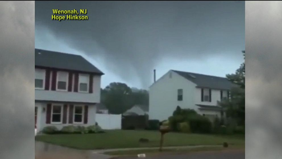Tornadoes, flash floods from New Jersey to Oklahoma City