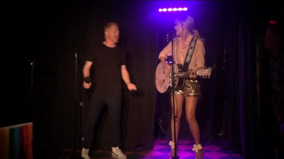 Taylor Swift surprises fans with a performance at NYC's Stonewall Inn