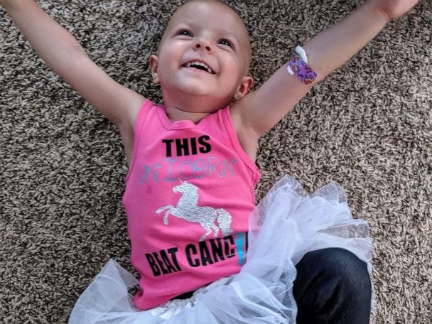 2 Year Old Diagnosed With Rare Ovarian Cancer Is Now Cancer Free Gma