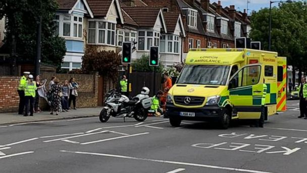 83-year-old hurt in accident with William and Kate's convoy