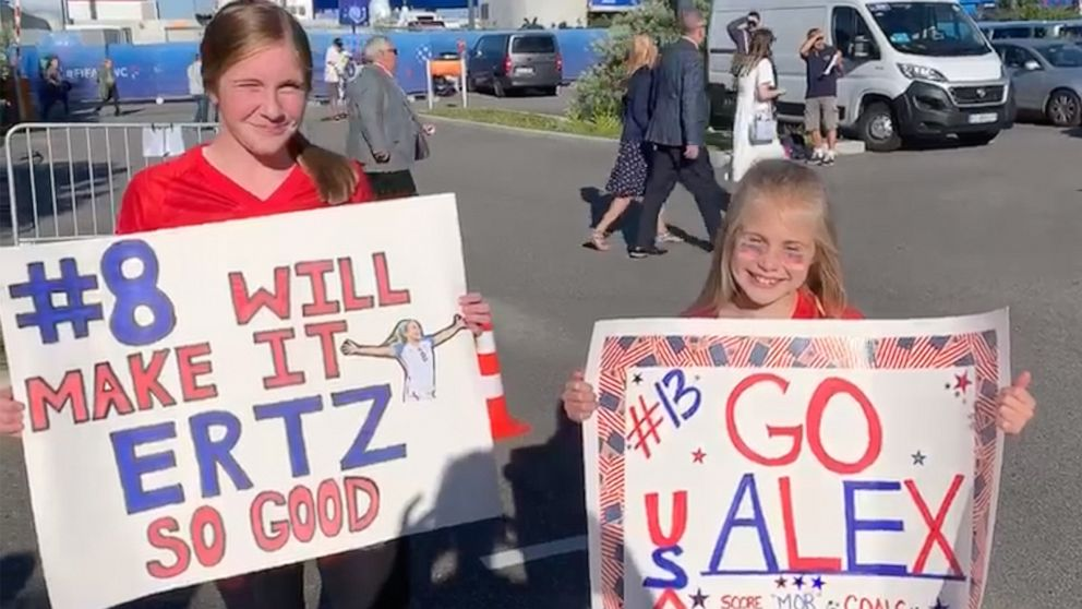 Girls share why US Women's Soccer team inspires them