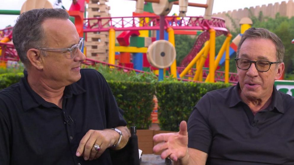 'GMA' Hot List: Tom Hanks and Tim Allen talk 'Toy Story 4'