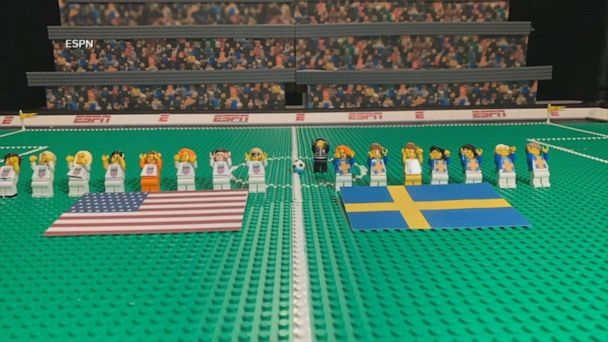 Watch a Lego version of FIFA Women's World Cup