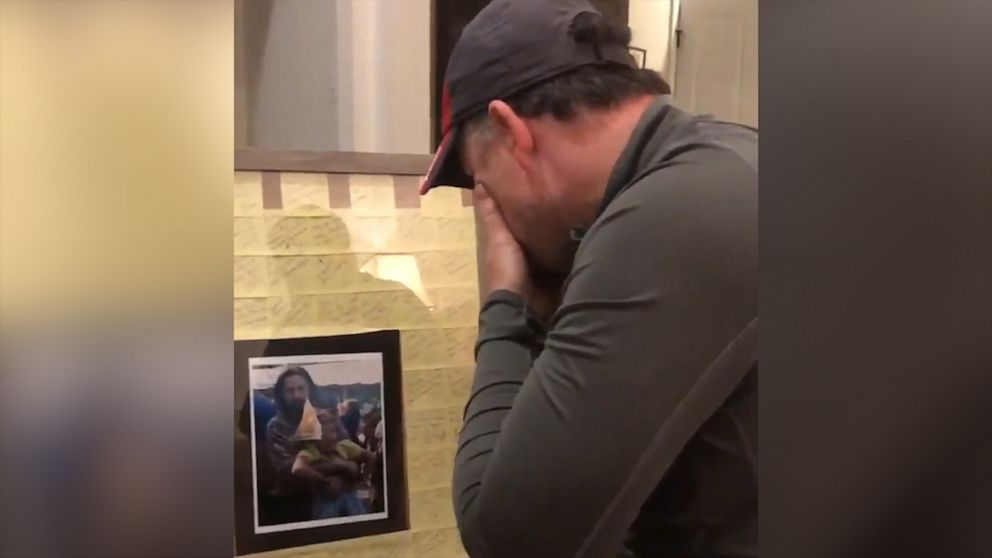 We love every single thing about this stepdad receiving this sentimental gift