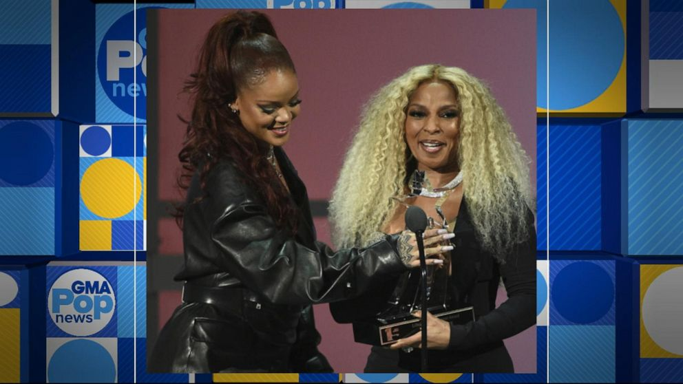 Mary J. Blige, Tyler Perry, Nipsey Hussle honored at BET Awards