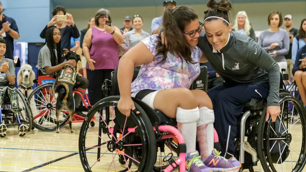 Girl surprised with wheelchair after spinal cord injury at age 3
