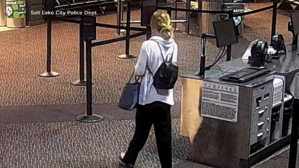 Police release last-known images of missing Utah student